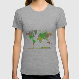World Map 7 T-shirt