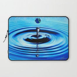 Earth Droplet Laptop Sleeve