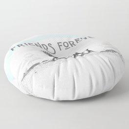 Friends Forever | Nadia Bonello Floor Pillow