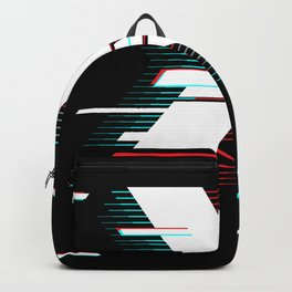 X futuristic poster Backpack