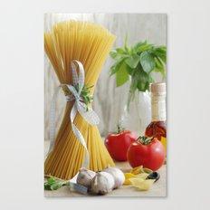 delicious pasta Canvas Print