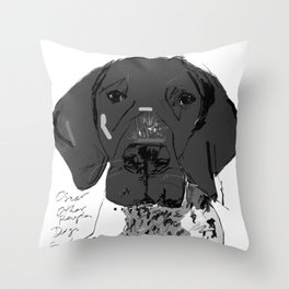 OPD Oscar Throw Pillow