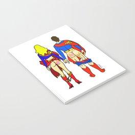 Superhero Butts Love 1 - Super Birds Notebook