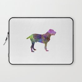 Spinone in watercolor Laptop Sleeve