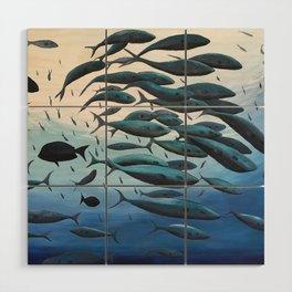 School of Fish Wood Wall Art