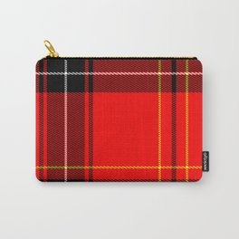 Plain Plaid Carry-All Pouch