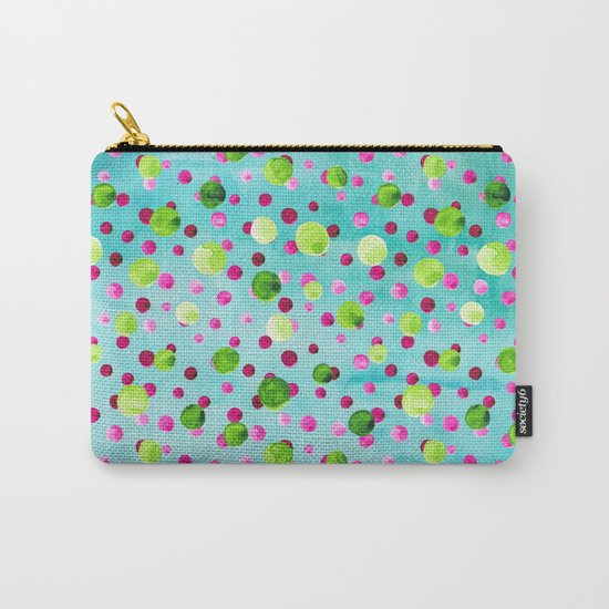 Polka Dot Pattern 09 Carry-All Pouch