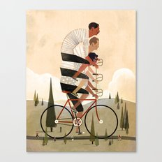 Co-Op Bike Canvas Print