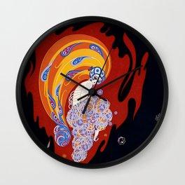 "Art Deco Design ""Oriental Tale"" Wall Clock"