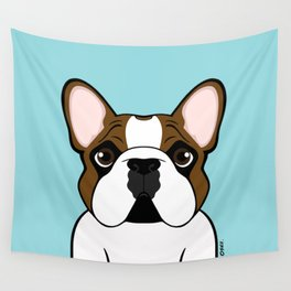 Frenchie - Fawn Pied Wall Tapestry