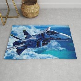 Macross AirCraft VF-1 Valkyrie Rug