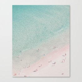 beach - summer of love III Canvas Print