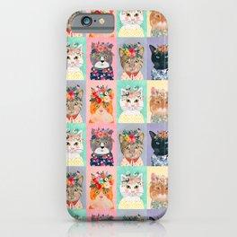 Cat land iPhone Case