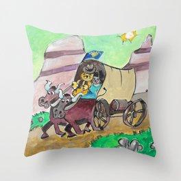 Oregon Cat Throw Pillow