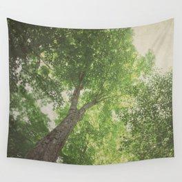 Green Tree Wall Tapestry
