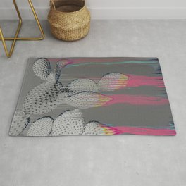 The Cactus Interference Rug