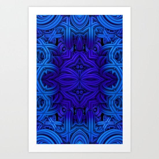 Deep Blue One Art Print