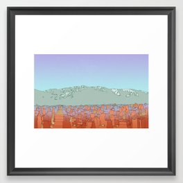 Muteland Framed Art Print