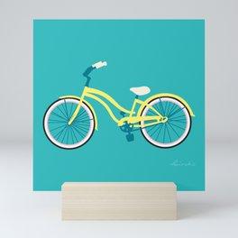 Cruiser Bike: Coral Reef Mini Art Print