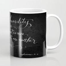 Bearing in Love // White on Black Mug