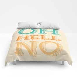 Hell No Comforters