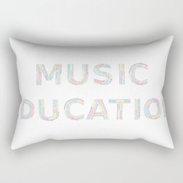 Music Education Rectangular Pillow