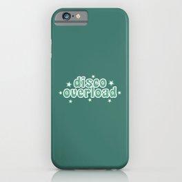 Disco Overload iPhone Case