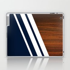 Wooden Navy Laptop & iPad Skin