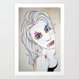 Self Portrait No. 1 Art Print