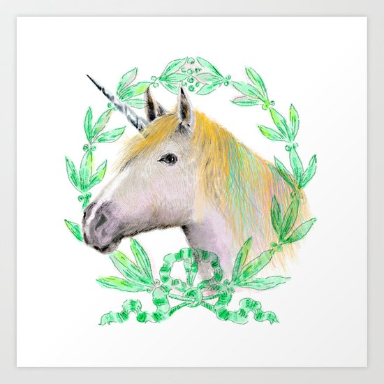 Unicorn IV Art Print