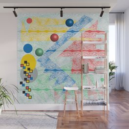 Abstract Lace Wall Mural