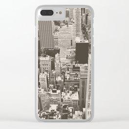 City Dream Clear iPhone Case
