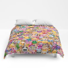emoji / emoticons Comforters