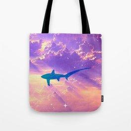Air Shark Tote Bag