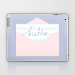 A little note to say hello Laptop & iPad Skin