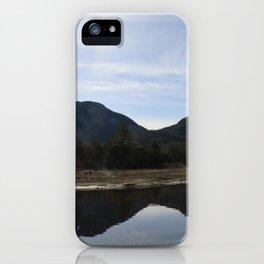 High Peaks Upstate New York Lake Placid iPhone Case