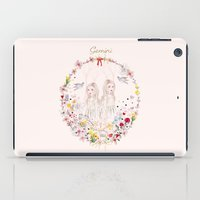 gemini iPad Cases featuring Gemini by Danse de Lune