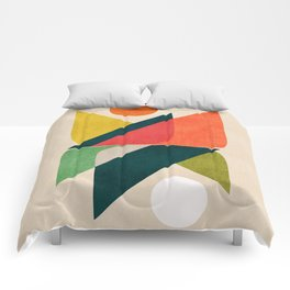 Reflection (of time and space) Comforters