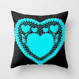 You pull on my heart strings Throw Pillow