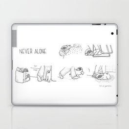 never alone Laptop & iPad Skin
