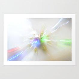 Light show IV (original) Art Print