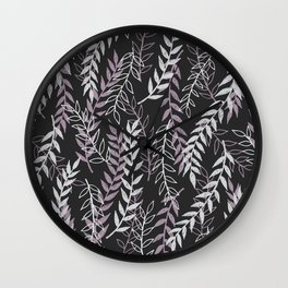 Leafage Wall Clock