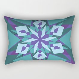 Crazy Mandala Rectangular Pillow