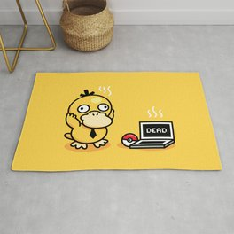 Psyduck in real life Rug