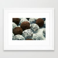 cookies Framed Art Prints featuring cookies by techjulie