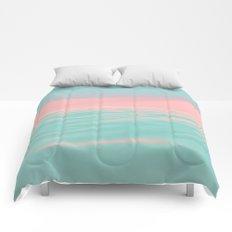 Pink Beach Comforters