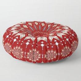 Ancestors (Red) Floor Pillow