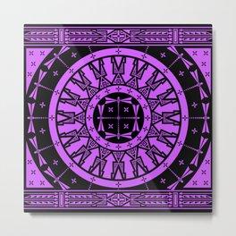 Ancestors (Black Lavender) Metal Print