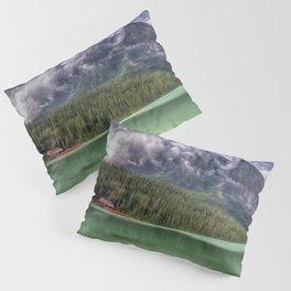 Majesty at the Lake - Banff National Park Pillow Sham