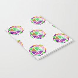 vivid dodecahedron Notebook